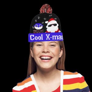 LED Light-Up Knitting Christmas Cool X-Max Hat