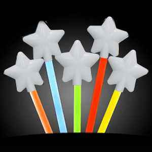 12 Inch Glowing Magic Wands - 5 Color Mix