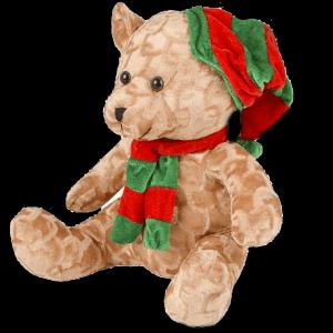 "10.5"" Christmas Bear Plush"