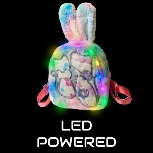 Plush Luminous LED Cute Backpack-Cat