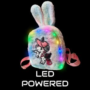 Plush Luminous LED Cute Backpack-Pony