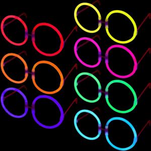 Glow Eyeglasses - Round - 8 Color Mix