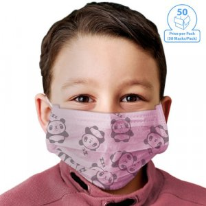 50/Pack 3-Ply Youth Protective Face Mask