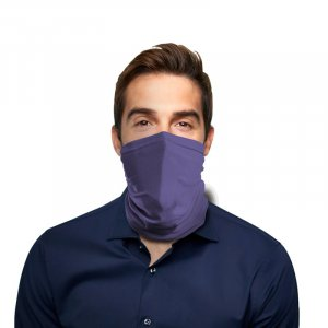 Strong Purple Polyester Gaiter