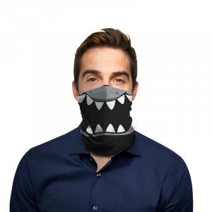 Shark Face Polyester Gaiter