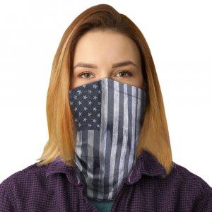 USA Black Polyester Gaiter