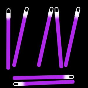 6 Inch Glowsticks - Purple