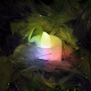 Light Up Tea Light Candles LED- Multicolor