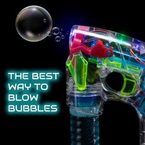 LED Light-up Bubble Gun