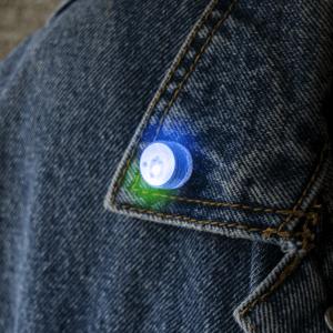 LED Blinky Body Light - Blue/Green
