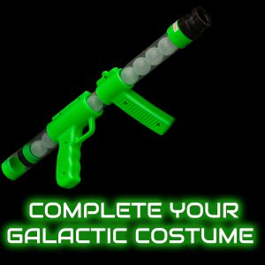 19'' Glow In The Dark Moon Blaster Gun