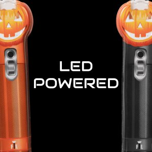 LED Magnetic Jack-O-Lantern Flashlight