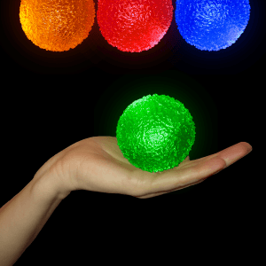 "2.5"" Light-Up Crystal Balls"