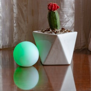 LED Light Up 3 Inch Mood Light Ball - Multicolor