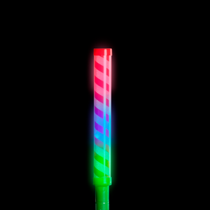"12"" Light-Up Candy Cane Stripe Wand"