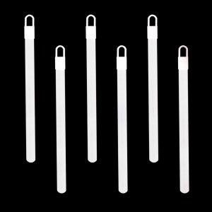 6 Inch Glowsticks - White