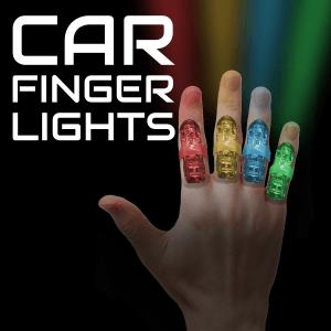 """1.75"""" Light-up Car Finger Lights"""