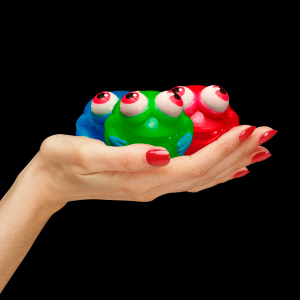 Light-Up Squeeze Frogs