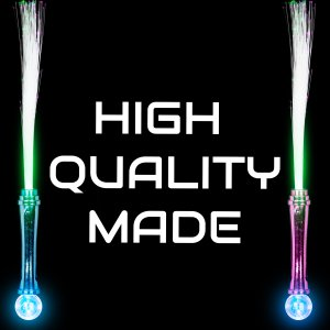 "15"" Fiber Optic Magic Ball Wands"