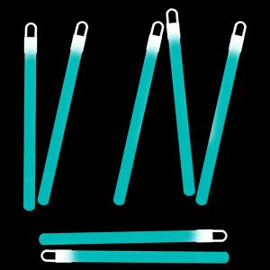 6 Inch Glowsticks - Aqua