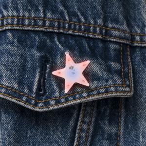 LED Blinky Magnet Pin - Twinkle Star