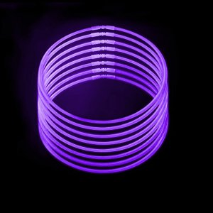 22 Inch Glowstick Necklaces - Purple