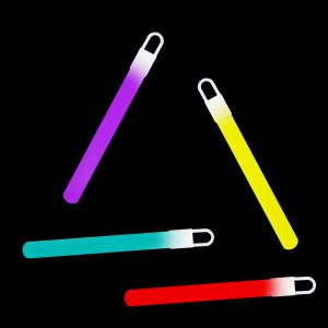 4 Inch Light Sticks - 5 Color Mix