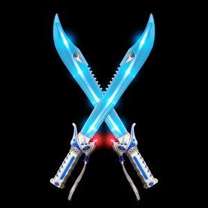 "24"" Fiber Optic Shark Sword"