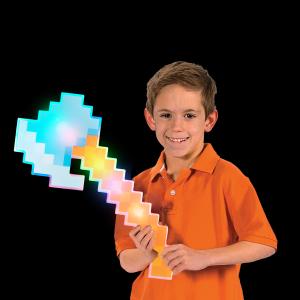 """18"""" LED Light-Up Pixel Axe"""