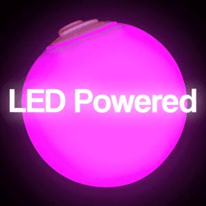 LED Light Up Waterproof Ball Mood Light - 3 Inch