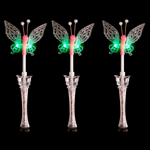 "17"" Light-Up Musical Butterfly Wand"