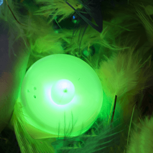 Light Up Tea Light Candles LED- Green