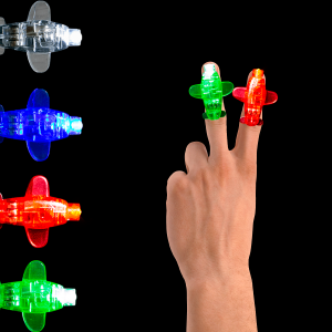 "1.5"" Light-Up Plane Finger Lights"