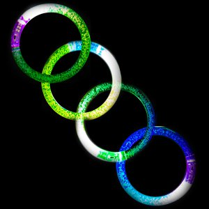 Light Up Bubble Led Bracelet