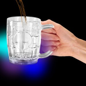 LED Flashing 16oz Beer Mug