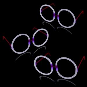 Glow Eyeglasses - Round - White