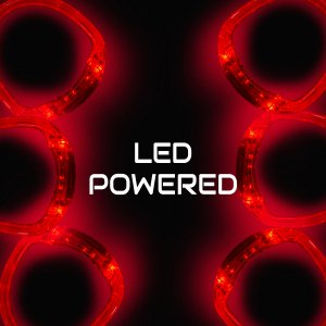 LED Flashing Bracelet - Red
