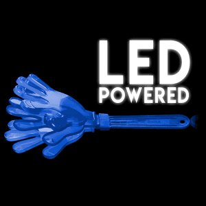 Light-Up Hand Clappers- Blue