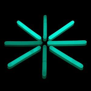 2 Inch Mini Glow Sticks - Aqua