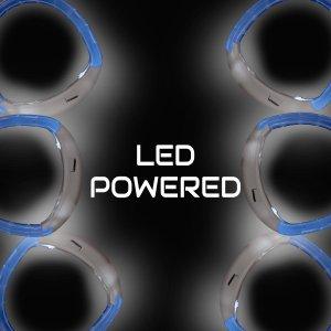 LED Flashing Bracelet - White