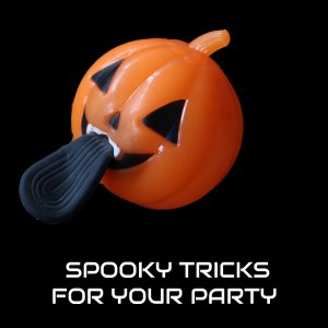 LED Light-Up Pumpkin Sling Shot