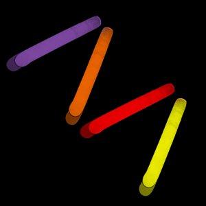 2 Inch Mini Glow Sticks - 5 Color Mix