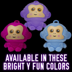 Light-Up Puffer Monkeys