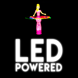 Light-Up Spinning Princess Doll Wand