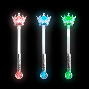 "20.5"" Light-Up Crown Magic Wand"