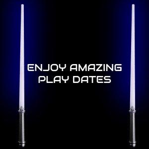 LED Light-Up 28 Inch Magic Sword - Blue