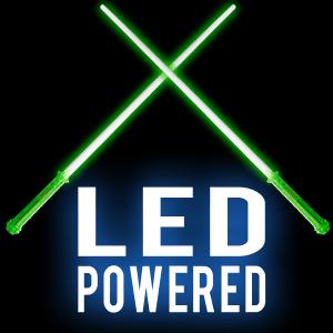 Jumbo Super Green Light-Up Sword