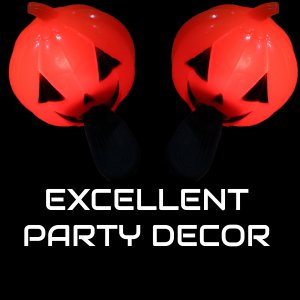 LED Light-Up Pumpkin Sling Shot