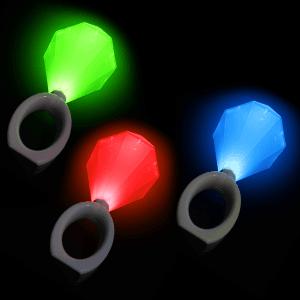 "8"" LED Diamond Ring Lights"