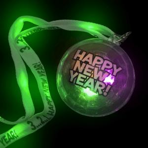 "32.5"" Light-Up Happy New Year Lanyard"